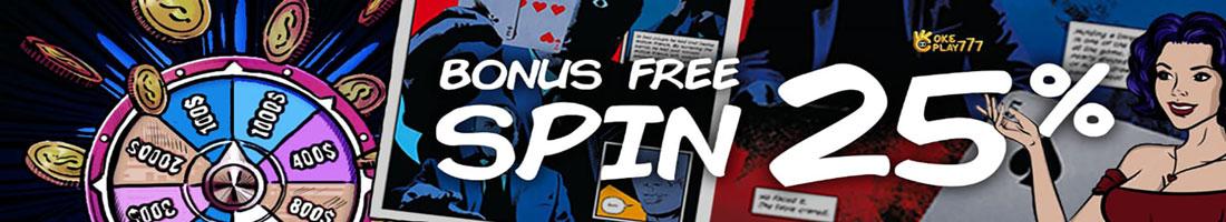 FreeSpin 25%